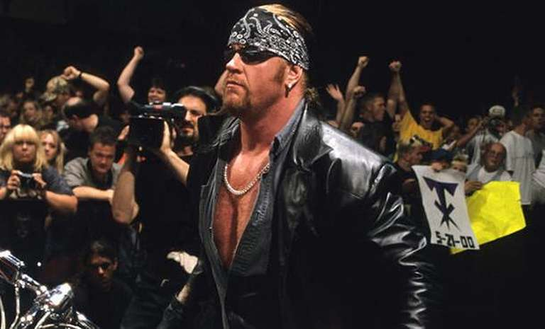 Reason for the undertaker transitioning into the american badass gimmick