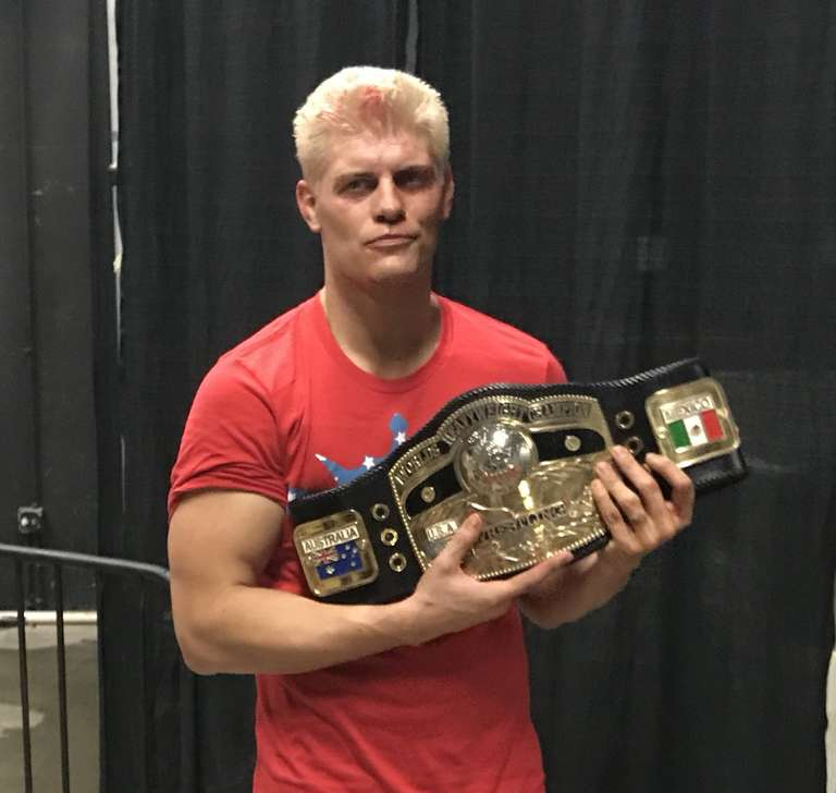 Cody Rhodes Wins NWA Championship At ALL IN